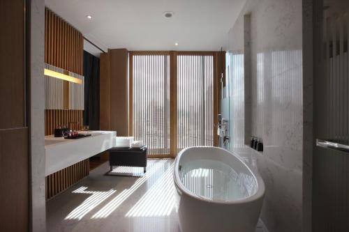 A bathroom at SO/ BANGKOK