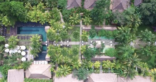 A bird's-eye view of The Mansion Resort Hotel & Spa