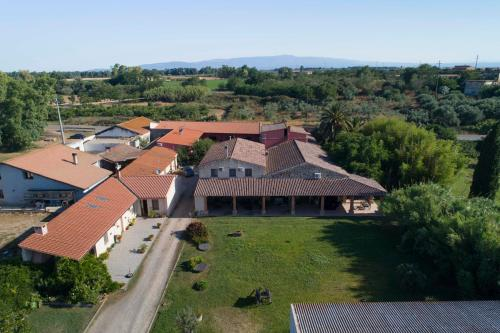 A bird's-eye view of Agriturismo Il Giglio