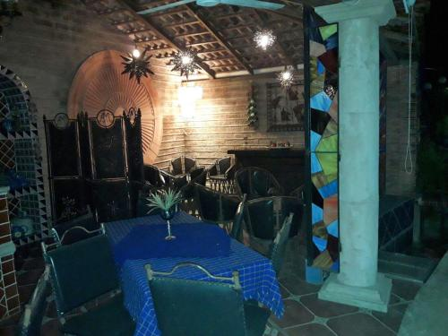 A restaurant or other place to eat at Quinta Aremar