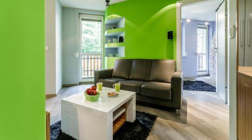 Część wypoczynkowa w obiekcie Rent like home - Droga na Bystre