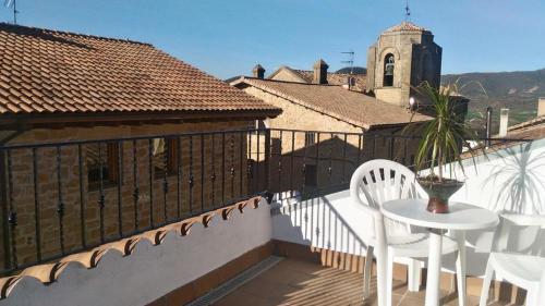 A balcony or terrace at Casa Txema