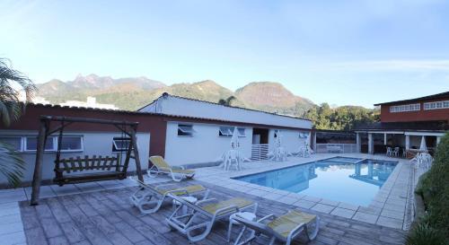 The swimming pool at or close to Hotel Vila Nova