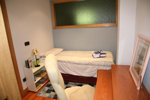 Cama o camas de una habitación en AnaKlara en Azkoitia