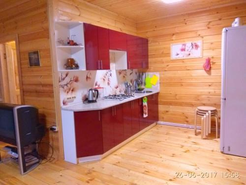 Ванная комната в Загородный дом Снегири