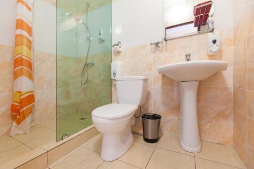 Ванная комната в Отель Регина Баумана