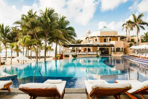 The swimming pool at or near Royal Hideaway Playacar All-Inclusive Adults Only Resort