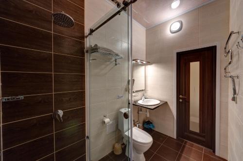 Ванная комната в Отель Александрия