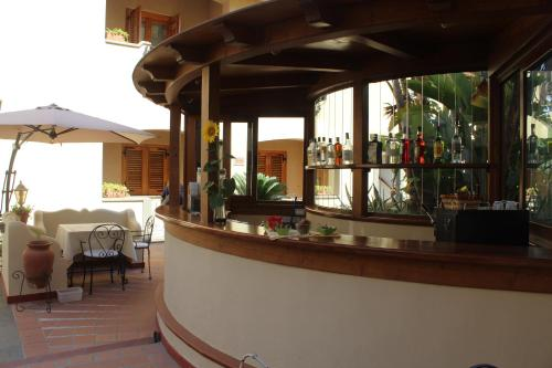 Salone o bar di Hotel La Filadelfia