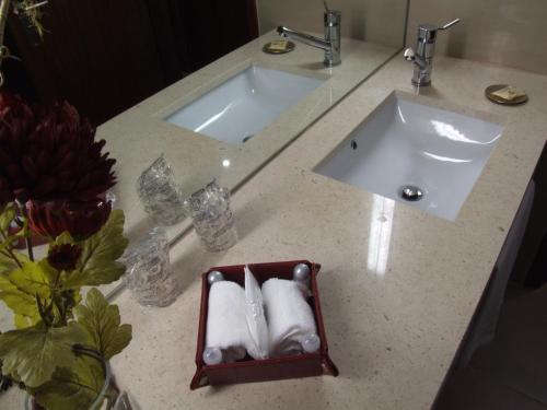 Uma casa de banho em Casa Do Vale Hotel