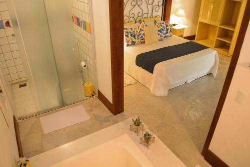 A bathroom at Pousada do Namorado