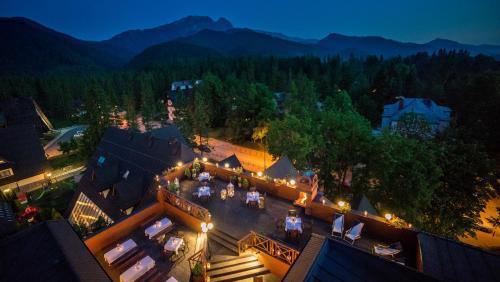 A bird's-eye view of Hotel Belvedere Resort&SPA