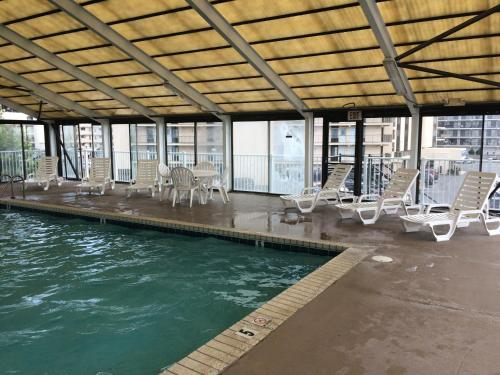 The swimming pool at or near Ocean Time