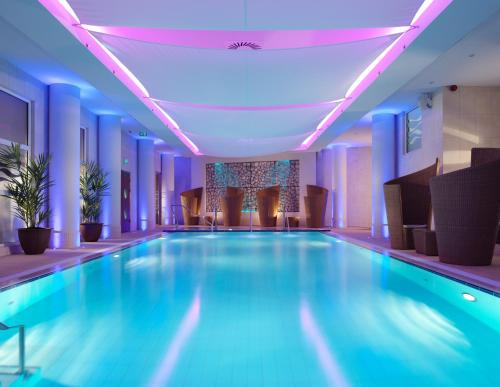 The swimming pool at or near The Royal Yacht