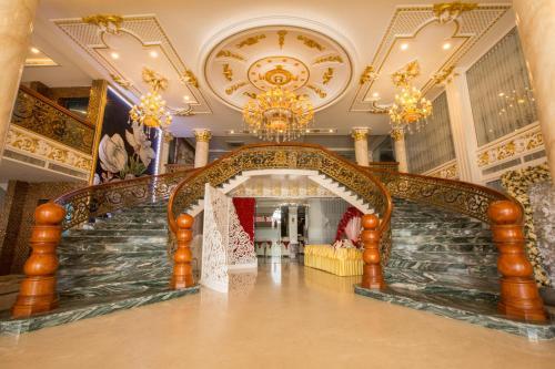 Khu vực sảnh/lễ tân tại Anh Nguyet Hotel