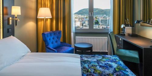 Część wypoczynkowa w obiekcie Thon Hotel Orion