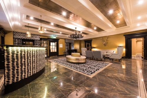 The lobby or reception area at Gleddoch Hotel Spa & Golf, BW Premier Collection