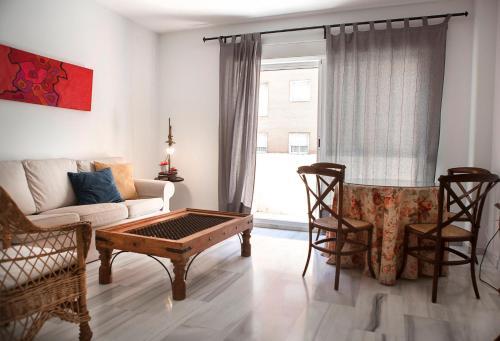 Zona de estar de Apartamento Buhaira