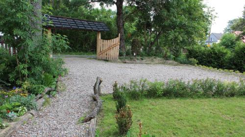 Ogród w obiekcie Mazurska Chata Czepiela