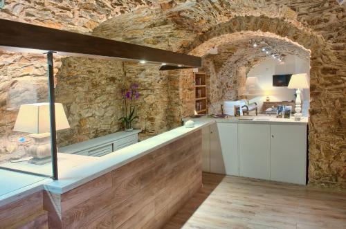 Una cocina o zona de cocina en El Petit Convent