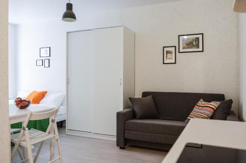 Гостиная зона в Ruzoff Apart by Solaren
