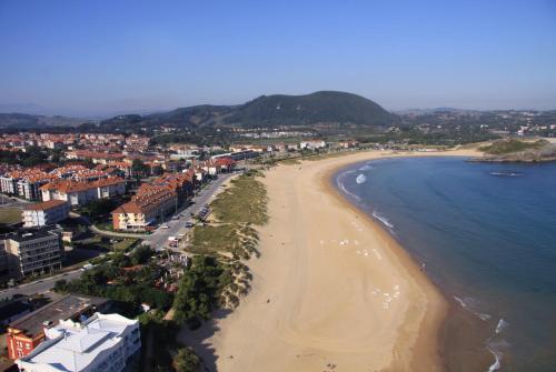 A bird's-eye view of Hotel las Dunas
