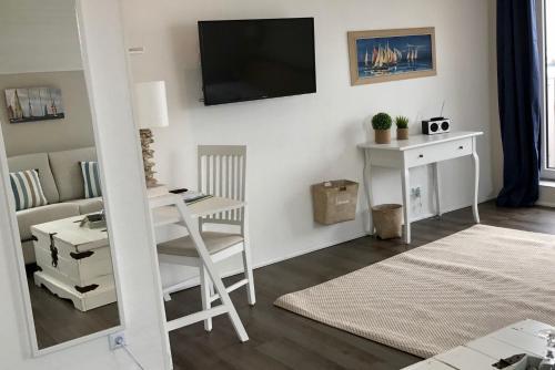 TV/Unterhaltungsangebot in der Unterkunft Hotel Ostsee-Anker