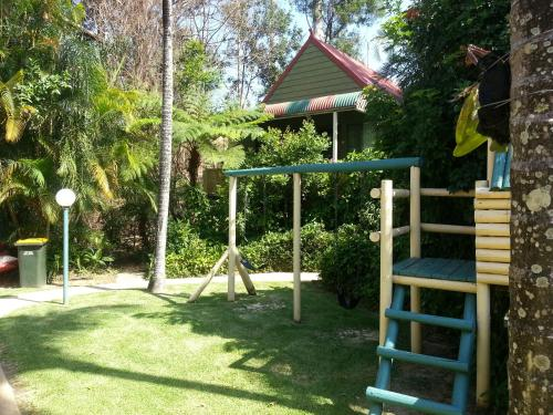 Children's play area at Tropic Oasis