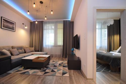 Część wypoczynkowa w obiekcie MNE Apartament