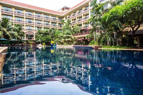 The swimming pool at or near Prince d'Angkor Hotel & Spa