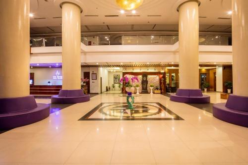 Лобби или стойка регистрации в TTC Hotel Phan Thiet