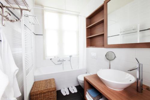 Salle de bains dans l'établissement Hotel Apostrophe - De Haan