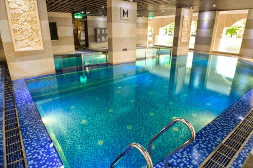 The swimming pool at or close to Moty Hotel
