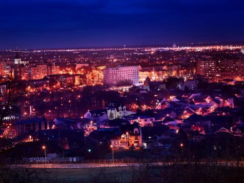 A bird's-eye view of Continental Forum Oradea