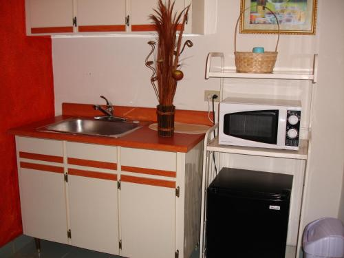 A kitchen or kitchenette at Dreams Hotel Puerto Rico