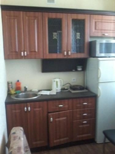 Кухня или мини-кухня в Аппартаменты на Ломоносова 32