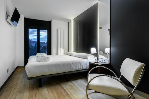 Cama o camas de una habitación en Villa iacca