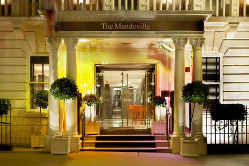 The facade or entrance of The Mandeville Hotel