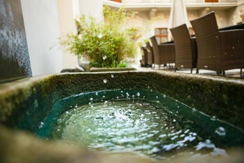 Бассейн в Hotel U Zlateho jelena или поблизости