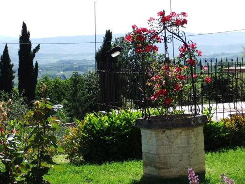 A garden outside Agriturismo Il Castagnolino