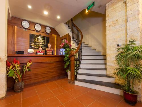 Khu vực sảnh/lễ tân tại Sapa Centre Hotel
