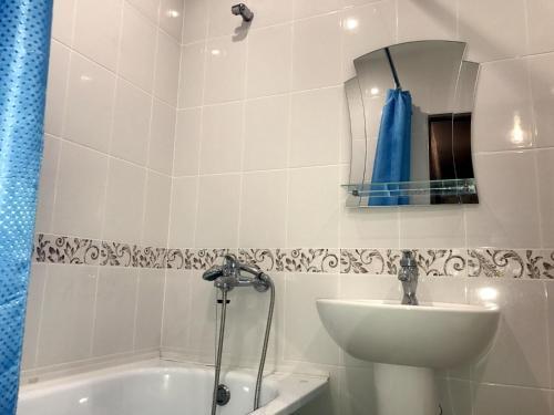 Ванная комната в Апартаменты Комсомольский, 44