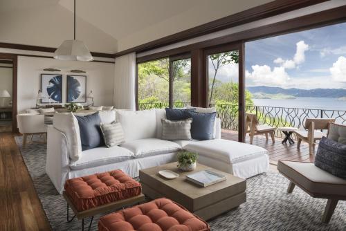 A seating area at Four Seasons Resort Costa Rica at Peninsula Papagayo