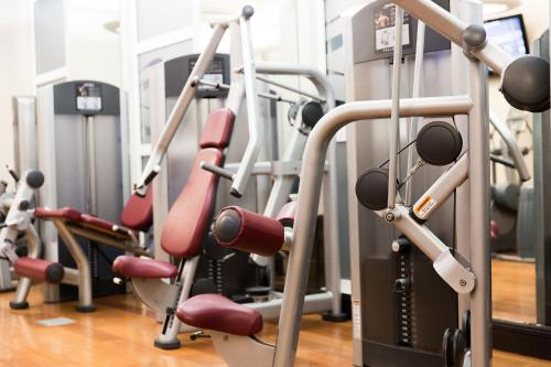 The fitness centre and/or fitness facilities at The Royal Yacht