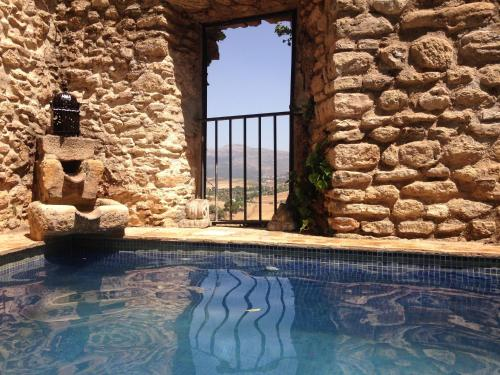 The swimming pool at or near Salvatierra Guest House