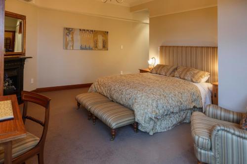 Un ou plusieurs lits dans un hébergement de l'établissement Lake Karapiro Lodge
