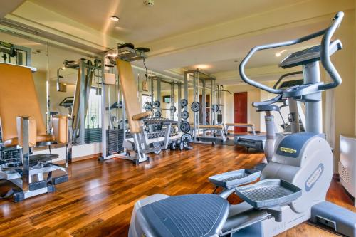 The fitness center and/or fitness facilities at Yantra Grand Hotel
