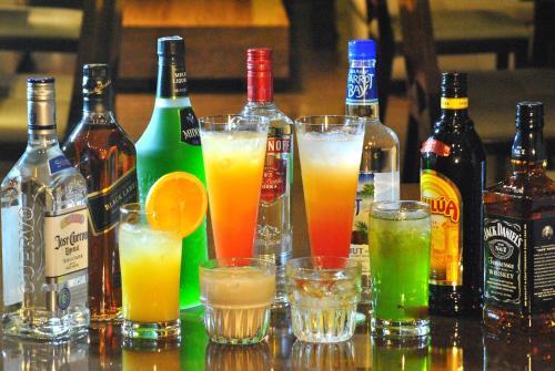 Drinks at Onward Beach Resort