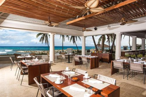 A restaurant or other place to eat at Hyatt Ziva Rose Hall - All Inclusive