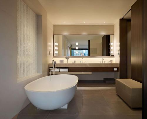 A bathroom at Park Hyatt Sydney